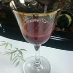 63525516 - 生血(赤ワイン割り)