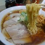 旭川ラーメン番外地 - 麺はこんな感じです。