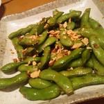 わたつみ - 枝豆ガーリック