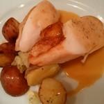パリのワイン食堂 - 鶏ロースト
