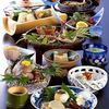 人肌の宿 川金 - 料理写真:鮎料理一式