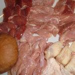 地鶏焼肉 くくる - 大和地鶏と肉厚しいたけ