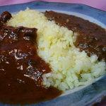 善米食堂 - 二食カレー
