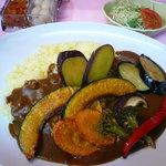 善米食堂 - 季節の野菜カレー