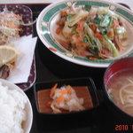 海邦丸 - ゴーヤチャンプルー定食