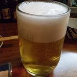 とっぺんさき - 生ビール