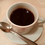 パリのワイン食堂 - 美味しいコーヒー