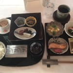 ホテル ラ・スイート神戸ハーバーランド - 和定食 3000円(税・サ別)‥‥宿泊料に込み