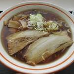 レストラン アルバータ - ラーメン(正油味)@750円
