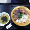 焼肉トラジ - 料理写真:トラジ特盛丼ごはん大盛り