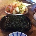 焼肉工房もく - キムチと韓国のり