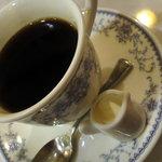 サンパウロ - 食後にセットコーヒー