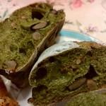 モグモグベーカリー - 抹茶のリュスティックです♪