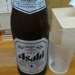 ちばき屋 - 瓶ビール(500円)グビグビいくぢぇ。♪Ю―(^▽^o) ♪