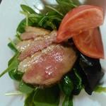 魚よし別荘 - 鴨のサラダ