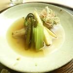 懐石料理 桝田 - メバルと筍の煮物
