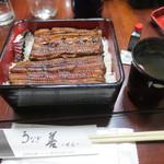 善 - うな重(3500円)