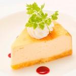 パセラ珈琲店 - 豆乳ベイクドチーズケーキ