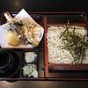 そば処 仙寿庵 - 料理写真:天ざる、1200円です。