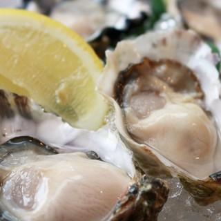 生牡蠣、焼き牡蠣、牡蠣料理