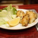 広島っ子 - 牡蠣の鉄板焼き
