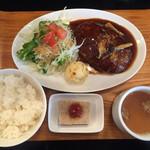 ヤマダデリ - ハンバーグ デミグラスソース@850