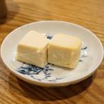 むろまち 加地 - 豆腐味噌漬け ルイベ風
