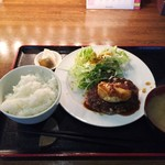ごんわーるど - ハンバーグランチ800円