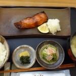 暖 - ◆銀鱈みりん定食(1080円:税込)・・銀鱈みりん・ご飯・小鉢・香の物・お味噌汁など。