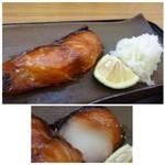暖 - ◆銀鱈は厚みもあり、美味しい。 「鬼おろし」がタップリ添えられているのもいいですね。