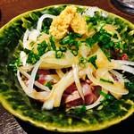 居酒屋サファリ - 地鶏のたたき