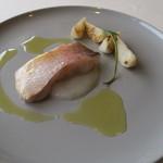 63554998 - 29年3月 京都丹後甘鯛麹漬け低温調理、蕪ピュレ、蕪焼き添え