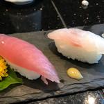 琉球回転寿司 海來 - 県産魚食べ比べ その1