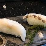 琉球回転寿司 海來 - 県産魚食べ比べ その2