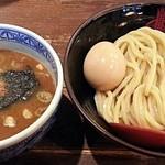 三田製麺所 - 【つけ麺 並(200g) + 半熟玉子】¥730 + ¥100