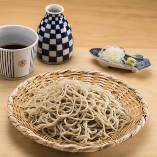 「利き蕎麦存ぶん」の蕎麦の特徴
