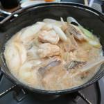 やまに郷作 - 料理写真:29年3月 鮟鱇どぶ汁