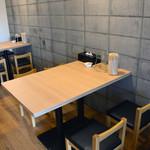 麺屋 大つけ麺博 - テーブル12席