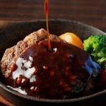 Tokyo Rice Wine - 黒毛和牛の絶品ハンバーグ