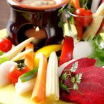 Tokyo Rice Wine - 蟹味噌ソースのバーニャカウダ