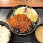 松乃家 - ロース&ひれかつセット