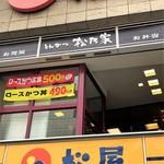 松乃家 - 仙台駅前松屋の2階!