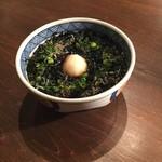 蕎麦cuisine hayakawa - 磯のりそば