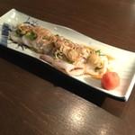 蕎麦cuisine hayakawa - 生たこポン酢