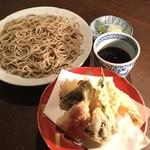 蕎麦cuisine hayakawa - 天せいろ