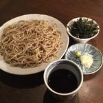 蕎麦cuisine hayakawa - のりせいろ