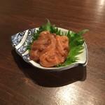 蕎麦cuisine hayakawa - いかの塩辛