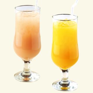 【100%ジュースもご用意】グアバジュースやマンゴージュース