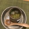 裕の輪 - 料理写真:1皿目。アオサが入った卵。お出汁が美味しいです。