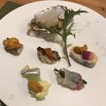 Yuunowa - 牡蠣の白ワイン蒸しやイサキなど